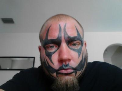 Blaze Ya Dead Homie Face Paint Get his paint tattooed on