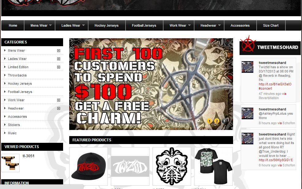 New Twiztid-shopdotcom