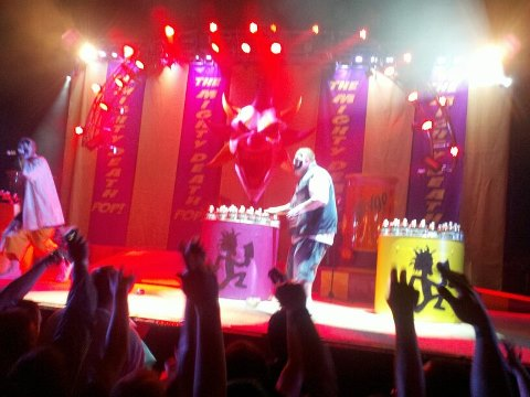 Violent J reaches for a Faygo 2-Liter