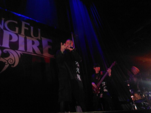 Kung Fu Vampire entraps the crowd's attention