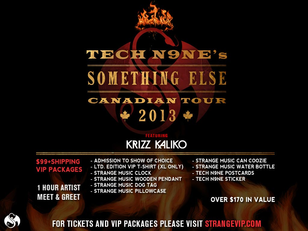 tech n9ne�s �something else� tour heading to canada