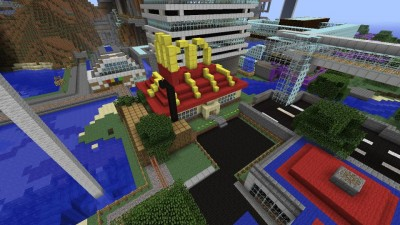 Kamikazi's Minecraft world has more to offer you than the real world.