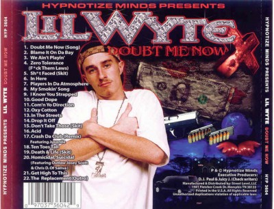 lil wyte doubt me now