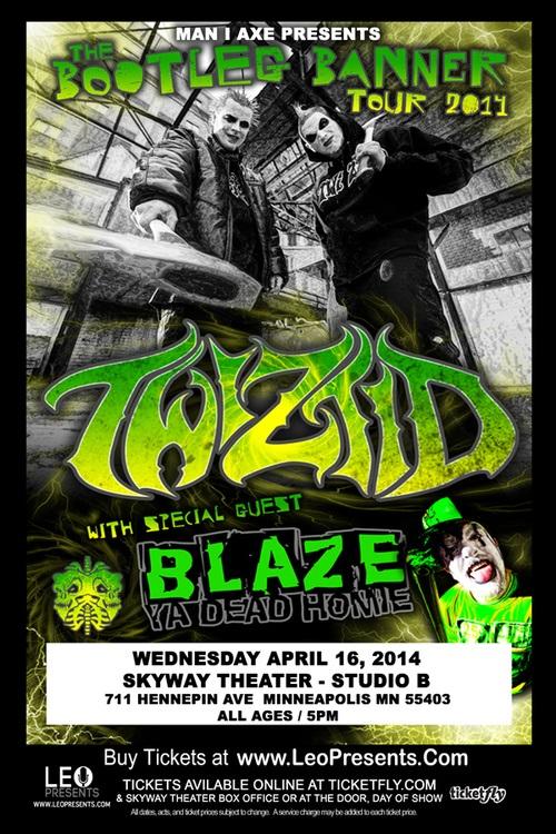 "Twiztid / Blaze Ya Dead Homie's ""Bootleg Banner"" Tour - Minneapolis, MN"
