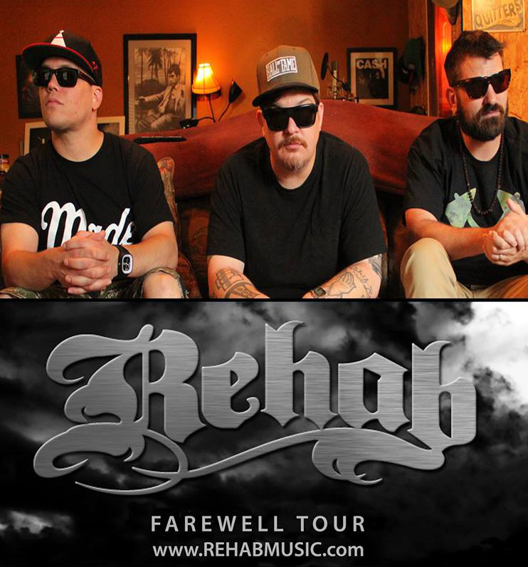 "REHAB's ""The Farewell Tour"" 2014 - Des Moines, IA"