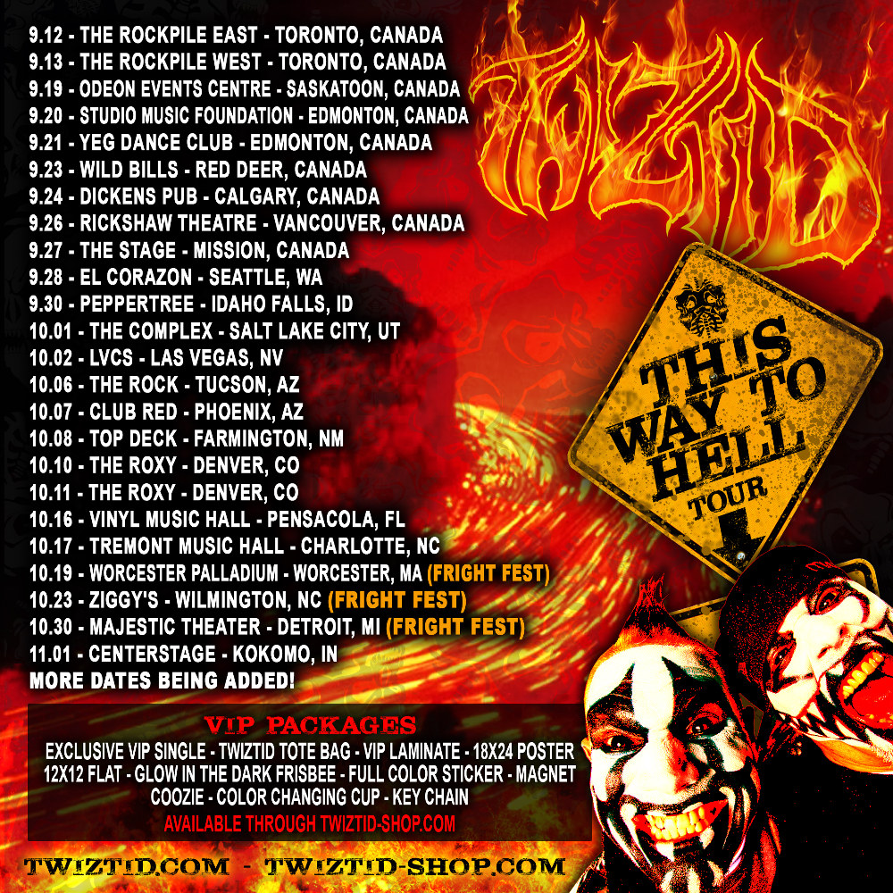 Twiztid Announces Dates For This Way To Hell Tour