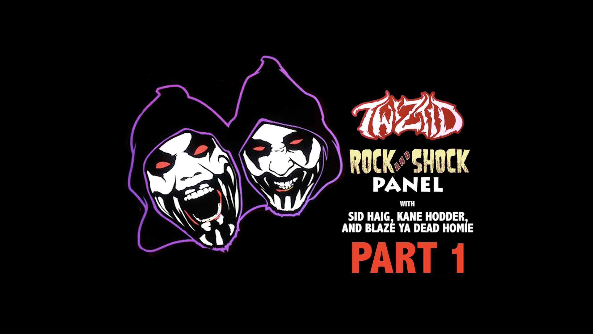 twiztid rock and shock panel part 1 faygoluvers