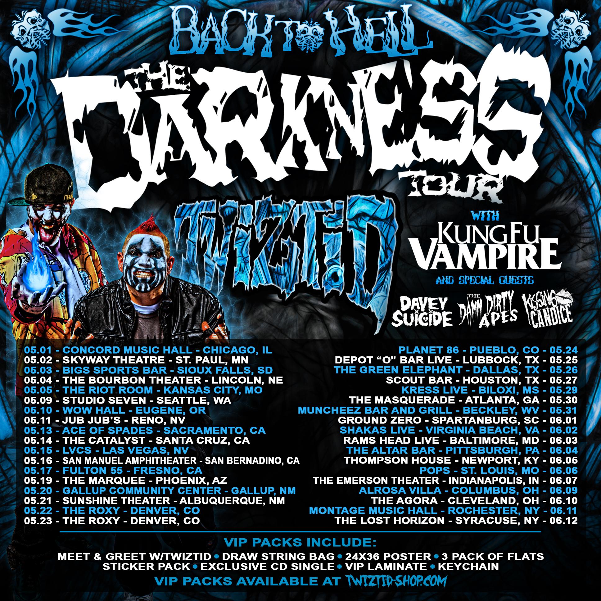 Twiztid tour dates in Melbourne
