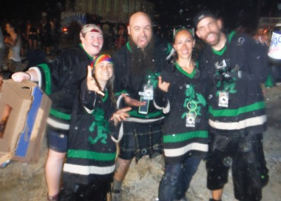 The FLH Crew after Faygo Armageddon!