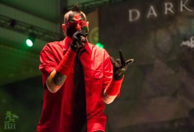 Madrox during the Dark Lotus performance!