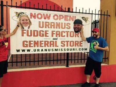 The best fudge comes from Uranus!