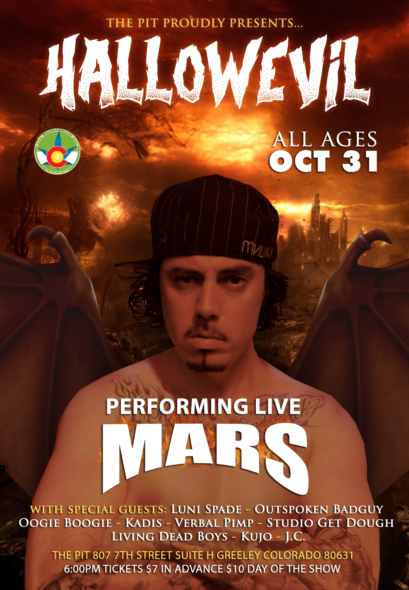 Greeley (CO) United States  City pictures : HallowEvil Ft. Mars – Greeley, CO | Faygoluvers