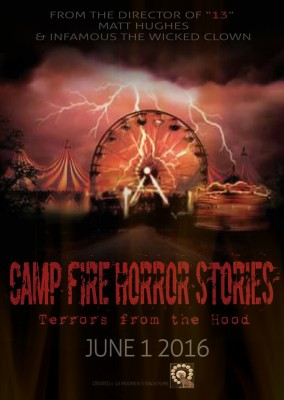 camp fire horror stories flyer, ohio juggalos