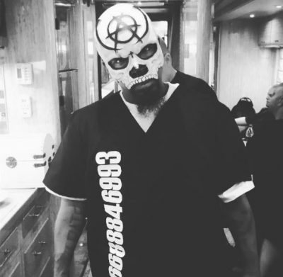 Tech N9ne debuts New Mask to replace Face Paint