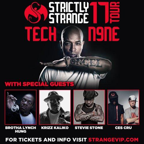 """Tech N9ne's """"Strictly Strange"""" Tour - Tucson, AZ"""